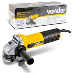Esmerilhadeira profissional Vonder 750w Novo Original