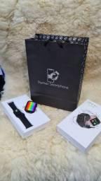 Pronta Entrega Relogio Smartwatch Inteligente iwo 12 Lite W26 Tela Infinita