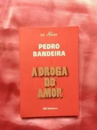 Livro A Droga do Amor - Pedro Bandeira