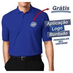 Kit de 10 Camisas Polos Bordada com a Logo de sua Empresa