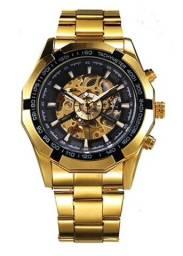 Relógio Forsining Skeleton Automático Promoção