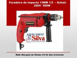 Furadeira de impacto 1/2 500W -Schulz