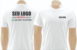 Camisetas para uniforme, confortáveis com sua propaganda estampada!