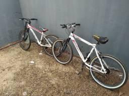 Duas bicicletas aro 26