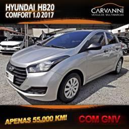 Hyundai HB20 Comfort 1.0 2017 com GNV