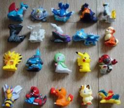 Kit 20 Pokemons + Pokebolas de 3cm e 4cm