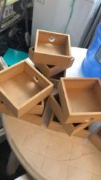 Vendo lote caixinhas MDF artesanato
