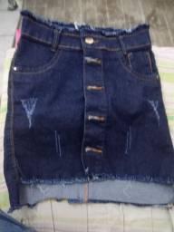 Saia curta jeans n° 36