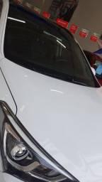 Huyndai Santa Fe GLS 2018 Branca unido no imperdivel