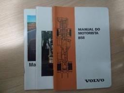 Manual do motorista de ônibus Volvo Antigo B58, B58 e B10 M