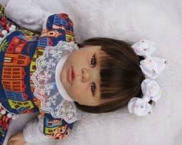 Boneca menina reborn