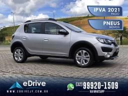 Renault Sandero Stepway Dynamique Flex 1.6 5p - IPVA 2021 Pago - Muito Novo - 2020