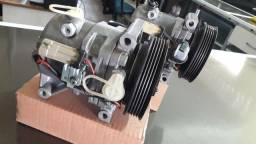 Compressor  Fiat calsonic Original Semi Novos.
