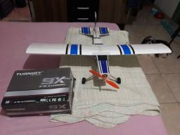 Aeromodelo sessna...completo...como novo..só voar..oportunidade...!!!