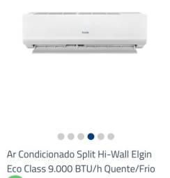 Ar condicionado 9000 btus eco class elgin seminovo