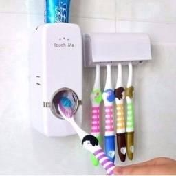 Dispenser de Creme dental automático e porta Escovas.