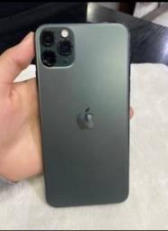 IPhone 11 Pro max verde 256gb
