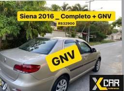 Siena El 1.0 - 2016 + *GNV ** _ Pouco Rodado _ Completo