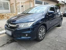 Honda City EXL 19/20 Azul