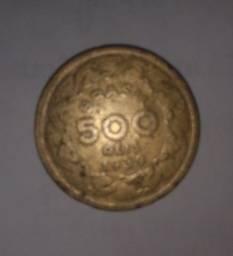 Moeda de 500 Réis 1939