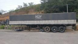 Carreta Graneleira Guerra 1996  Com Pneus e com Porta Container