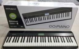 Roland Go piano + capa + pedal 12xsem juros aqui no Olx
