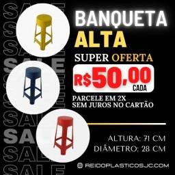 Banqueta Alta - Promoção
