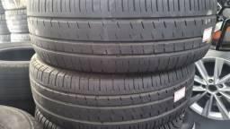 Par de pneus aro 14 medida 185 65 seminovos