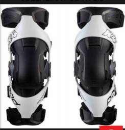 Joelheira motocross pod k4 usada semi nova
