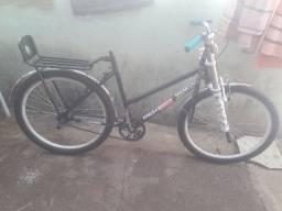 Bicicleta nova toda equipada