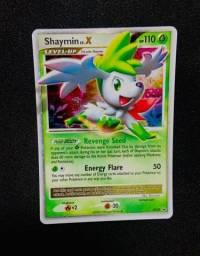 Título do anúncio: Carta de Pokemon Shaymin level X