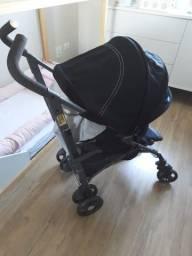 Carrinho de Bebê - Chicco Lite Way - Preto - Novo