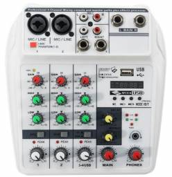 Mesa Mixer 4c Áudio Interface Frete Grátis Usb Bluetooth Fx Delay