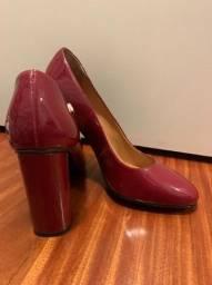 Sapato verniz vermelho!