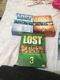 Dvd box original do Lost para colecionadores e fãs