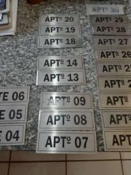 Placas numericas