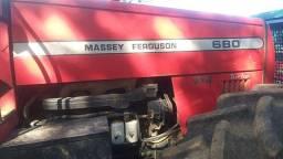 Trator mf 680 ano 2008 extra