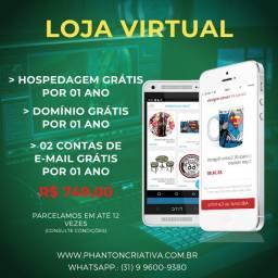 Criação de Loja Virtual - E-commerce - Promoção