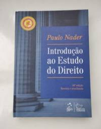 Livro Introdução ao Estudo do Direito