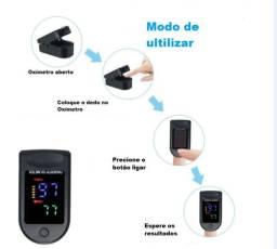 oximetro digital medidor de saturação