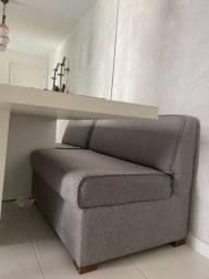 Sofá para canto alemão ou mini Sofa