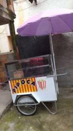 Vendo carrinho de pipoca