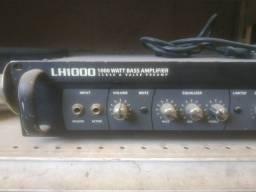 Título do anúncio: Amplificador, cabeçote, hartke LH1000 watt