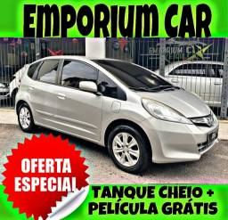 TANQUE CHEIO SO NA EMPORIUM CAR!!! HONDA FIT 1.4 LX ANO 2014 COM MIL DE ENTRADA
