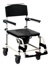 Cadeira De Banho Adulto Aluminio Super Soft Mobil