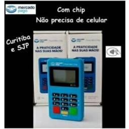 Maquininha cartão Mercado Pago point mini Chip
