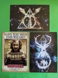 Plaquinhas Decorativas Harry Potter