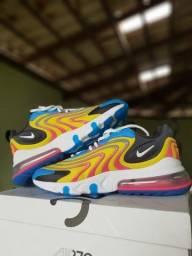 """Tênis Nike Air Max 270 ENG """"Watermelon"""" - Tam 40"""