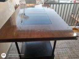 Tampo de mesa 6 cadeiras