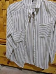 Promoção imperdível linda camisa social tamanho P